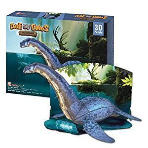 3Dクラフト プレシオサウルス P671H 組み立てキット  ハートアートモデル|minato-m