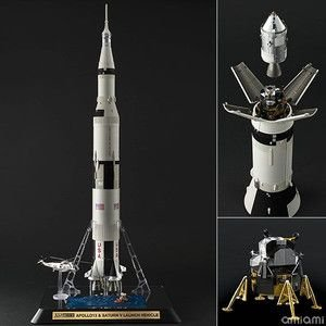 大人の超合金 アポロ13号&サターンV型ロケット バンダイ|minato-m