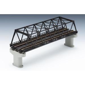 3257 複線トラス鉄橋(F)(こげ茶)(複線PC橋脚・2本付) トミックス Nゲージ|minato-m