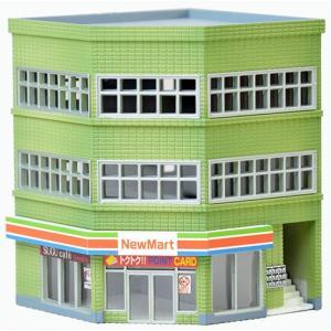 建物コレクション 133-2 交差点の建物A2 トミーテック|minato-m