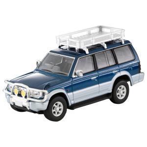 トミカリミテッドヴィンテージネオ LV-N206a 三菱パジェロ VR オプション付(青/銀) トミーテック|minato-m