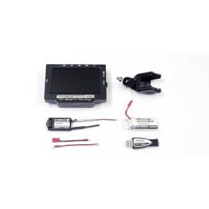 2.4GHz FPVシステム KYOSHO オンボードモニター LiPo&USB充電器付き 82724BC 京商|minato-m