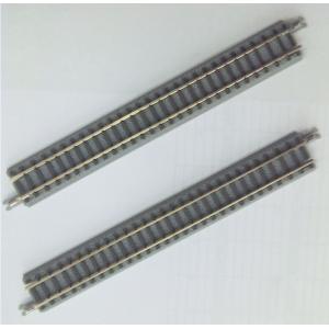 ロクハン R036 クラシックトラック 直線レール112.8mm 2本 六半 Zゲージ|minato-m