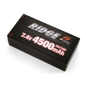 RIDGEリポ 7.4V 4500mAh ショートタイプ Gフォース GFG004 minato-m