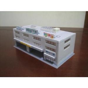 ジオワールド 106  バス会社A  完成品ストラクチャー 1/150  Nゲージサイズ minato-m