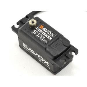SC-1251MG ブラック ロープロ サボックス デジタルサーボ|minato-m