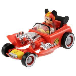 ミッキーマウスとロードレーサーズ かんたん変形! ホット・ロッド ミッキーマウス トミカ タカラトミー|minato-m
