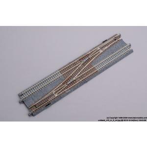 ●   複線片渡りポイント4番    ・長さが248mmのユニトラック標準サイズで、使いやすいコンパ...