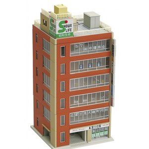 23-434B  オフィスビル2B(ブラウン)  カトー Nゲージ|minato-m