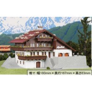 ホビーセンターカトー 28-403 KATO×FALLER 高原のリゾートホテル (組み立てキット)|minato-m