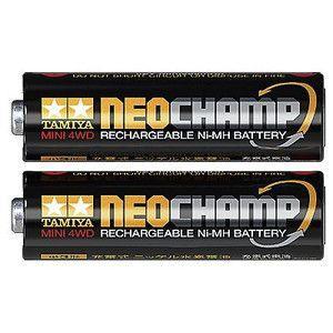 ミニ四駆 単3形ニッケル水素電池 ネオチャンプ  2本  タミヤ ミニ四駆モーター・電池 15420
