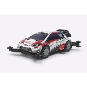 ミニ四駆PRO トヨタ ガズー レーシング WRT/ヤリス WRC (MAシャーシ) タミヤ ミニ四駆キット 18654|minato-m