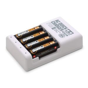 単3形ニッケル水素電池ネオチャンプ 4本 と急速充電器PROII タミヤ モーター・電池 55116