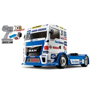 57904 1/14RC XB TEAM HAHN RACING MAN TGS  TT-01シャーシ TYPE-E  タミヤ RC完成品 同梱不可|minato-m