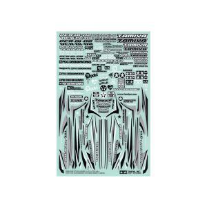 DCR-01/02 (デクロス-01/02) ドレスアップステッカー ミニ四駆特別企画 タミヤ 95489|minato-m