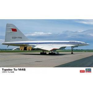 1/144 ツポレフ Tu-144S ハセガワ 10837 プラモデル|minato-m