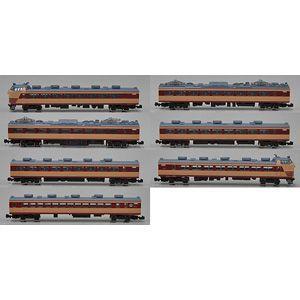 3008 国鉄 485系交直流特急電車 特急色 雷鳥  7両セット 先頭車300番台  クラウンモデル Z minato-m