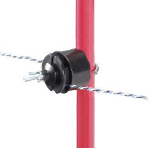 末松電子 電気柵 ゲッターシステム用 『Sガイシ』 (100個) [電柵 電気牧柵]|minatodenki