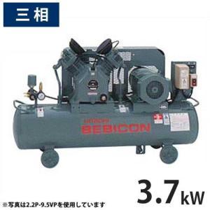 日立産機 コンプレッサー ベビコン 3.7P-9.5VP5/6 (給油式/圧力開閉器式/三相200V/3.7kW) 【返品不可】|minatodenki