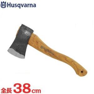 ハスクバーナ 手斧 576926401 (全長38cm) [Husqvarna 斧 薪 薪割り斧]|minatodenki