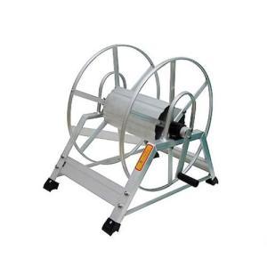 アルミ製 高圧スプレーホース用ホースリール 20〜50m用 (ホース無し) [巻取り機] minatodenki