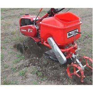 ホンダ(HONDA) 耕運機 パンチX402 《大型肥料散布機 ブロキャス5(50L)セット》 (耕うん爪・移動タイヤ)|minatodenki
