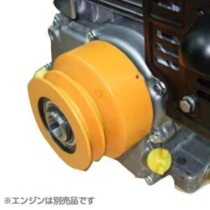 CM型Vプーリー付き遠心クラッチ CM-110 (対応エンジン5〜7馬力) 【エンジンは別売です】|minatodenki