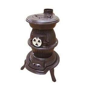 SHOEI 高級鋳物製 ダルマストーブNo.8 (25〜35坪用)|minatodenki