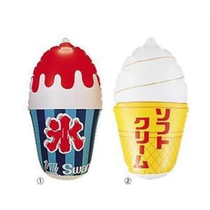 スワン 風船ディスプレイ (かき氷・ソフトクリーム) minatodenki
