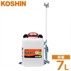 工進 電池式噴霧器 消毒名人 DK-7D (容量7L) [噴霧機 動噴] minatodenki