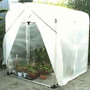 アルミフレーム 園芸温室 フラワー温室 FO-5型 (0.5坪) minatodenki