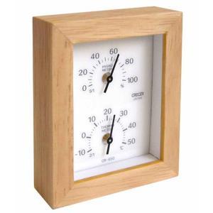 CRECER 温度計・湿度計 Woody CR-650W 4955286803875 [クレセル・M...