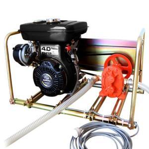 ミナト 13Φギヤーポンプ ロビン4馬力エンジン+停止スイッチ付きセット [ギヤポンプ 灯油 軽油 A重油 廃油]|minatodenki
