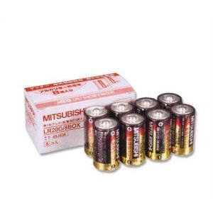 末松電子 電源機器 810 アルカリ単一乾電池(8コ入) [ゲッターシステム用 電気柵 電柵 電気牧柵]|minatodenki