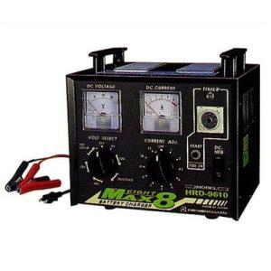 デンゲン 多連結充電器 HRD-9610 (30時間電子タイマー付) [バッテリーチャージャー]|minatodenki