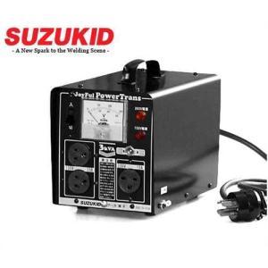 【取扱終了】スズキッド 昇圧・降圧兼用 変圧器 パワートランス JPT-30 (100V変換アダプター付き) minatodenki