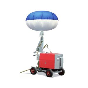 キタムラ産業 バルーン投光機 ハイピカバルーン KBL-100EN (防音型ディーゼル発電機付) [灯光器]|minatodenki