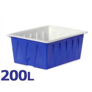 スイコー 角型容器 KL-200 (容量200L) [角型タンク KL型容器 角槽]|minatodenki