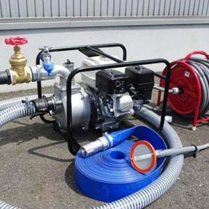 工進 2インチ エンジンポンプ KH-50P 散水オールセット 《散水バルブ切り替え装置+散水器+サニーホース20m》 [KOSHIN]|minatodenki