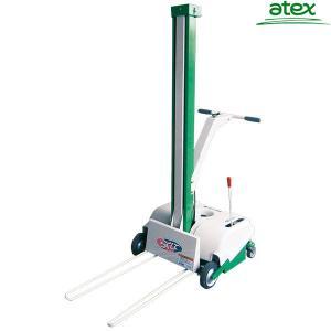 アテックス 米袋リフター L305-MSA (ローヘッド型/移動式/揚量32kg/揚程1m) [コメ袋]|minatodenki