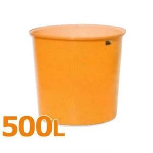 スイコー 丸型タンク M型容器 M-500 (フタなし/容量500L) [丸型容器]|minatodenki