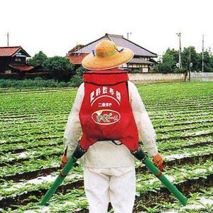 肥料散布機 まくぞーくん 二条すじまき専用 (袋容量20kg) [肥料散布器]|minatodenki