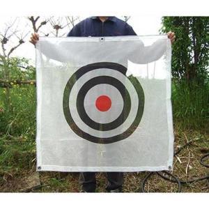 ゴルフネット用標的 (メッシュ型 約90×90・ロープ付)|minatodenki