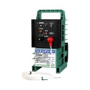末松電子 電気柵 ゲッターシステム本器 ミニゲッター2 M-6 [電柵 電気牧柵 防獣用フェンス] minatodenki