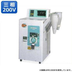ホソカワ 籾すり機内蔵型 精米機 MR-1901E (三相200V/容量20kg) [籾摺り機兼用 精米器]|minatodenki