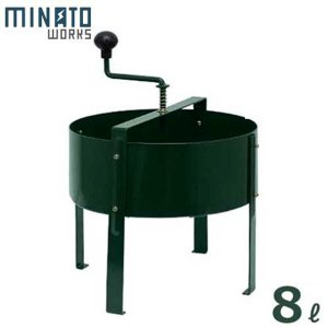 ミナト 回転式 土ふるい機 RSS-20 (用土分別用) minatodenki