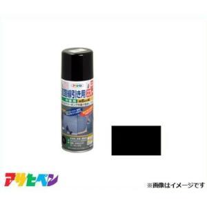アサヒペン 道路線引き用SP 中線用 400ml 黒 [アスファルト コンクリート ライン引き]|minatodenki