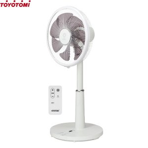 トヨトミ 静音型 DCモーター扇風機 FS-D30JR (リモコン付き/風量8段階)  [TOYOTOMI 家庭用]|minatodenki