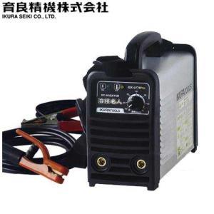 イクラ(育良精機) インバーター制御 直流アーク溶接機 『溶接名人』 ISK-LY70Pro (AC100V専用/使用率80%)|minatodenki