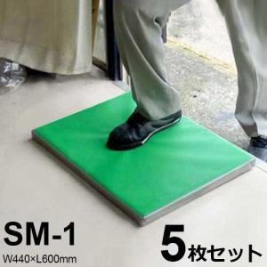 除菌・消毒マット SM-1 5枚セット (W440×L600mm) [南栄工業 ナンエイ]|minatodenki